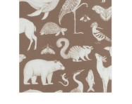 Tapeta Katie Scott Animals, toffee brown