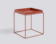Stolík Tray Table 40x40, red