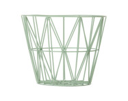 Kôš Wire Basket large, mint