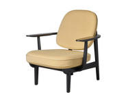 Lounge chair JH97, yellow