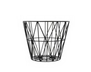 Kôš Wire Basket small, black