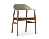 Stolička Herit Armchair Smoked Oak, dusty green