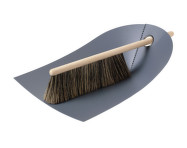 Metlička a lopatka Dustpan & Broom, dark grey