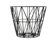 Kôš Wire Basket large, black