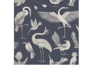 Tapeta Katie Scott Birds, dark blue