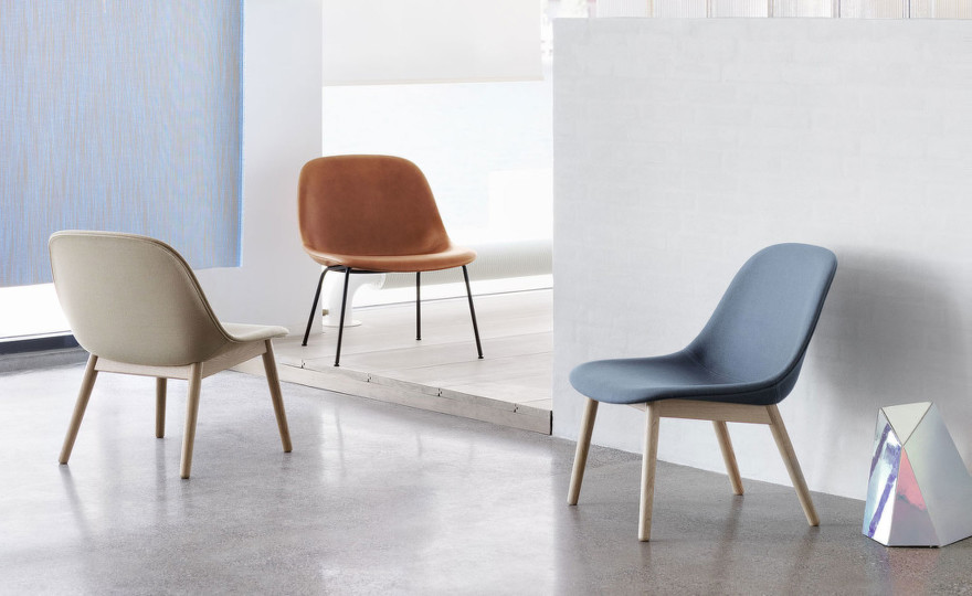 Stolička Fiber Lounge Chair